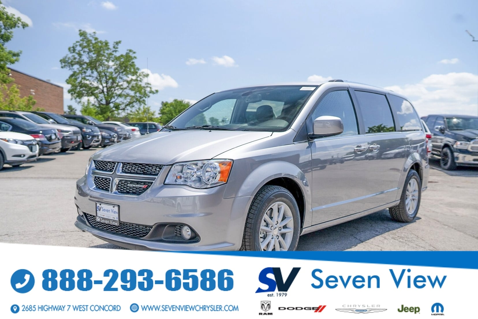 used 2020 Dodge Grand Caravan car, priced at $31,577