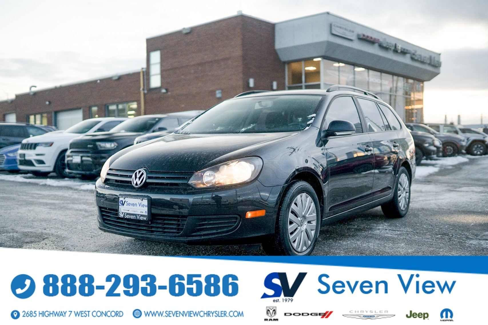 used 2014 Volkswagen Golf car, priced at $12,677