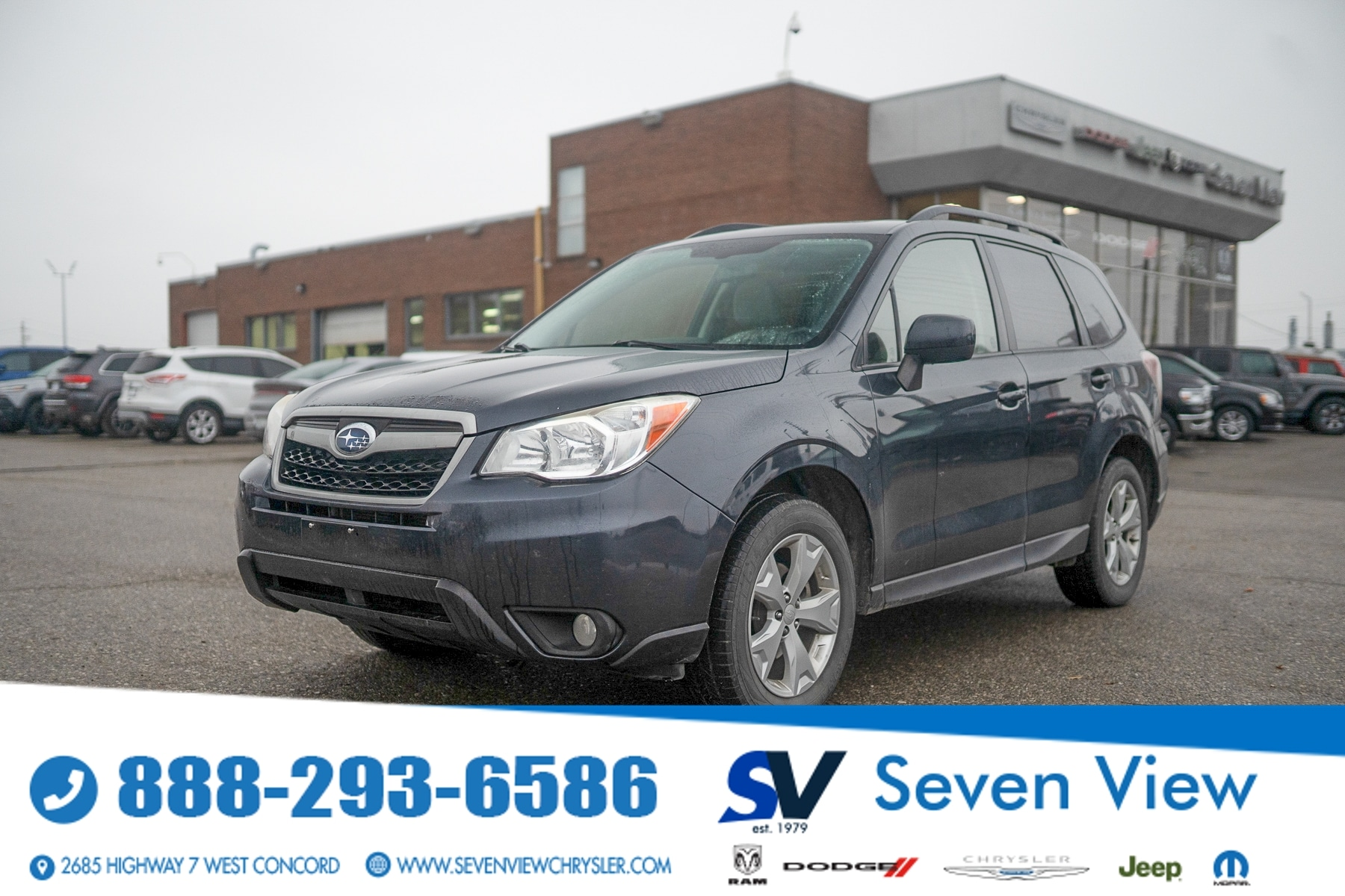 used 2014 Subaru Forester car, priced at $7,277