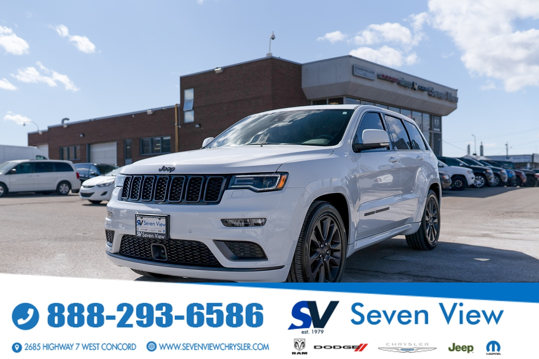 used 2019 Jeep Grand Cherokee car, priced at $48,477