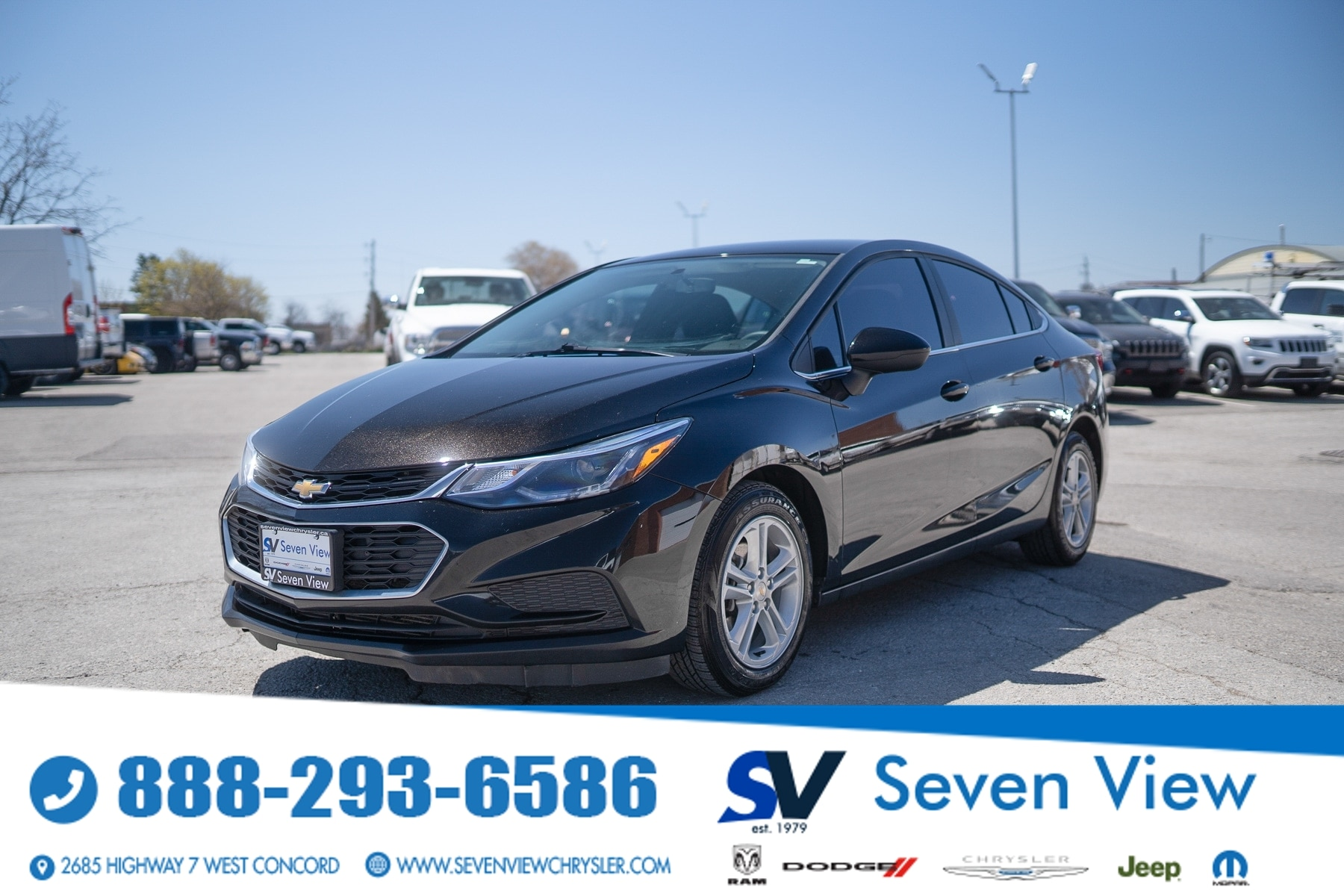 used 2018 Chevrolet Cruze car, priced at $11,377