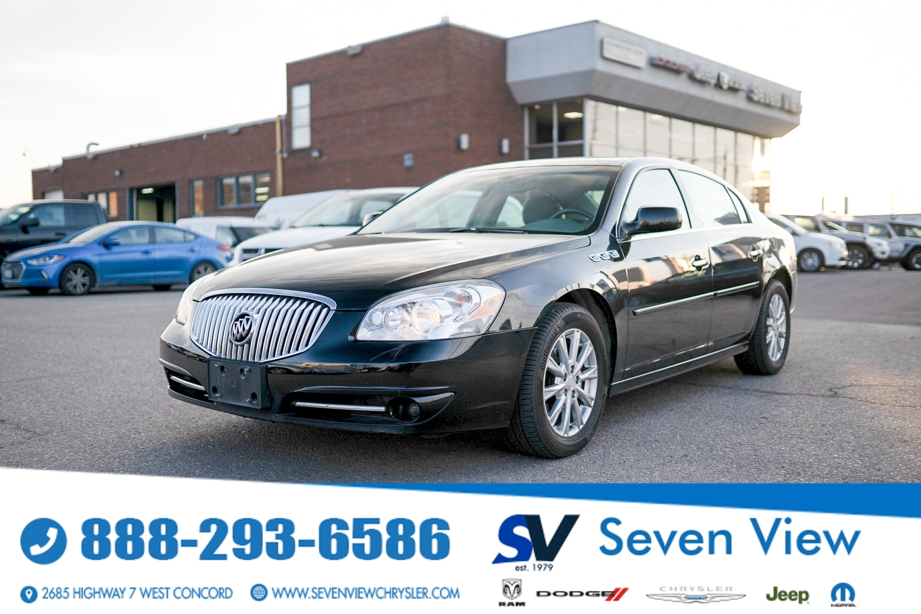 used 2011 Buick Lucerne car, priced at $8,677