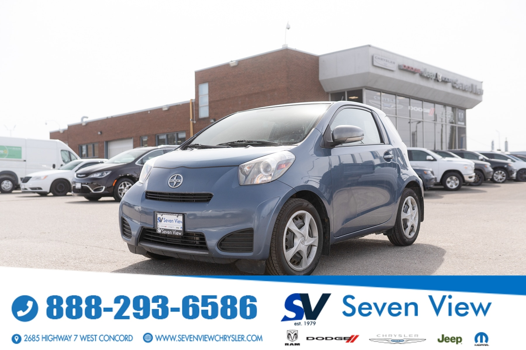 used 2012 Scion iQ car, priced at $5,777