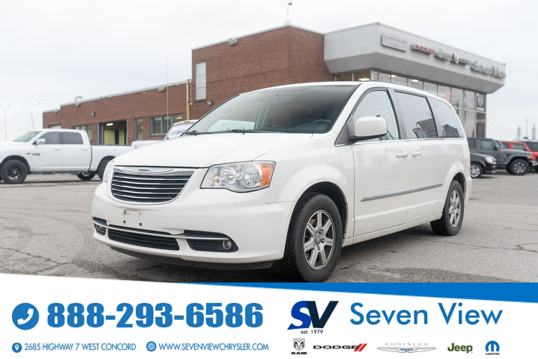 used 2012 Chrysler Town & Country car, priced at $12,277
