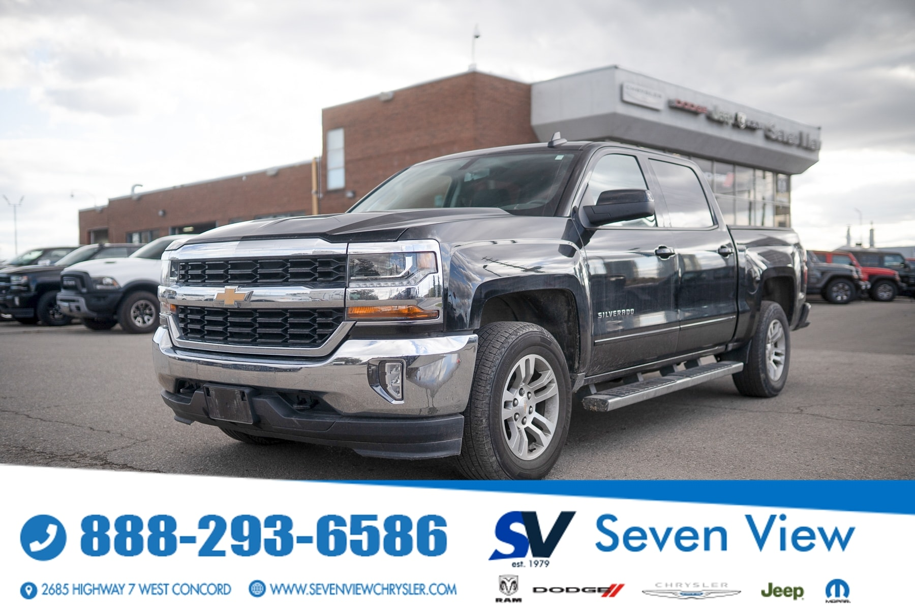 used 2018 Chevrolet Silverado 1500 car, priced at $34,877