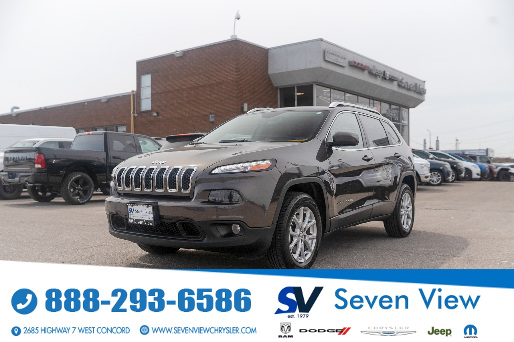 used 2015 Jeep Cherokee car, priced at $13,997