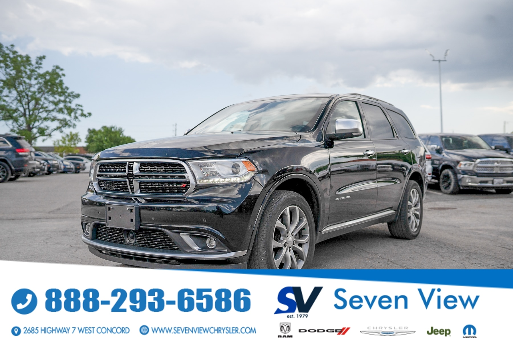 used 2018 Dodge Durango car, priced at $37,997