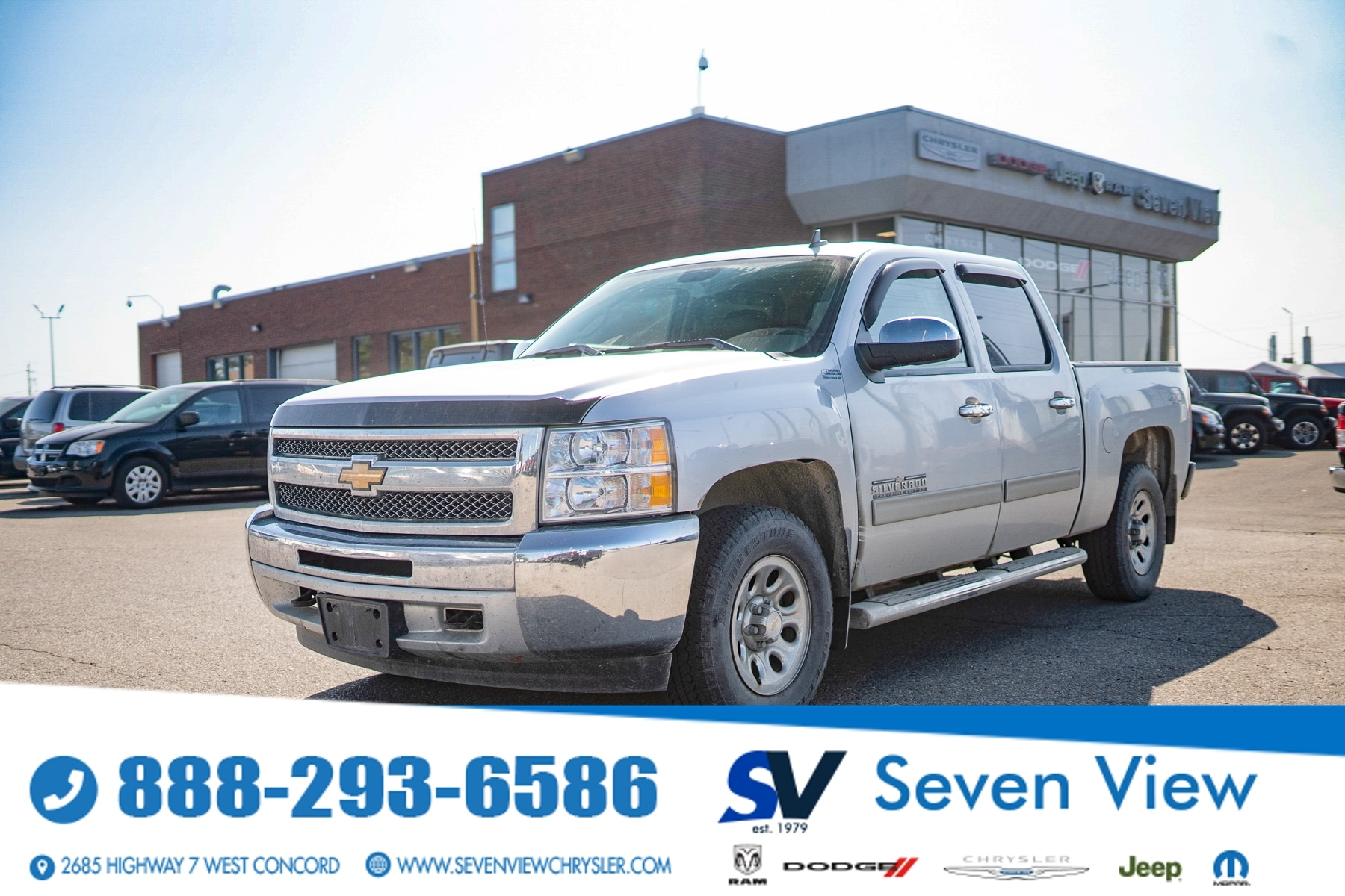 used 2013 Chevrolet Silverado 1500 car, priced at $19,677