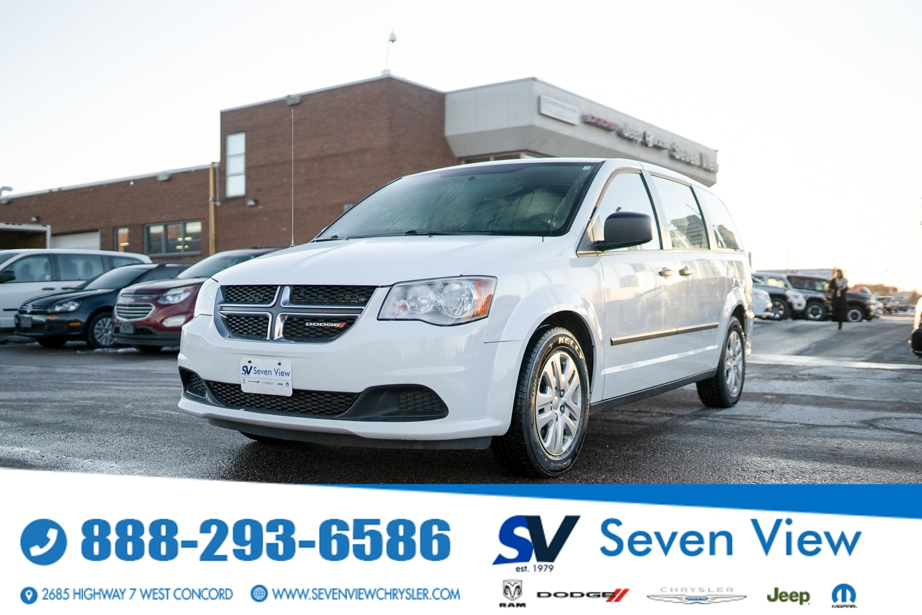 used 2017 Dodge Grand Caravan car, priced at $12,777