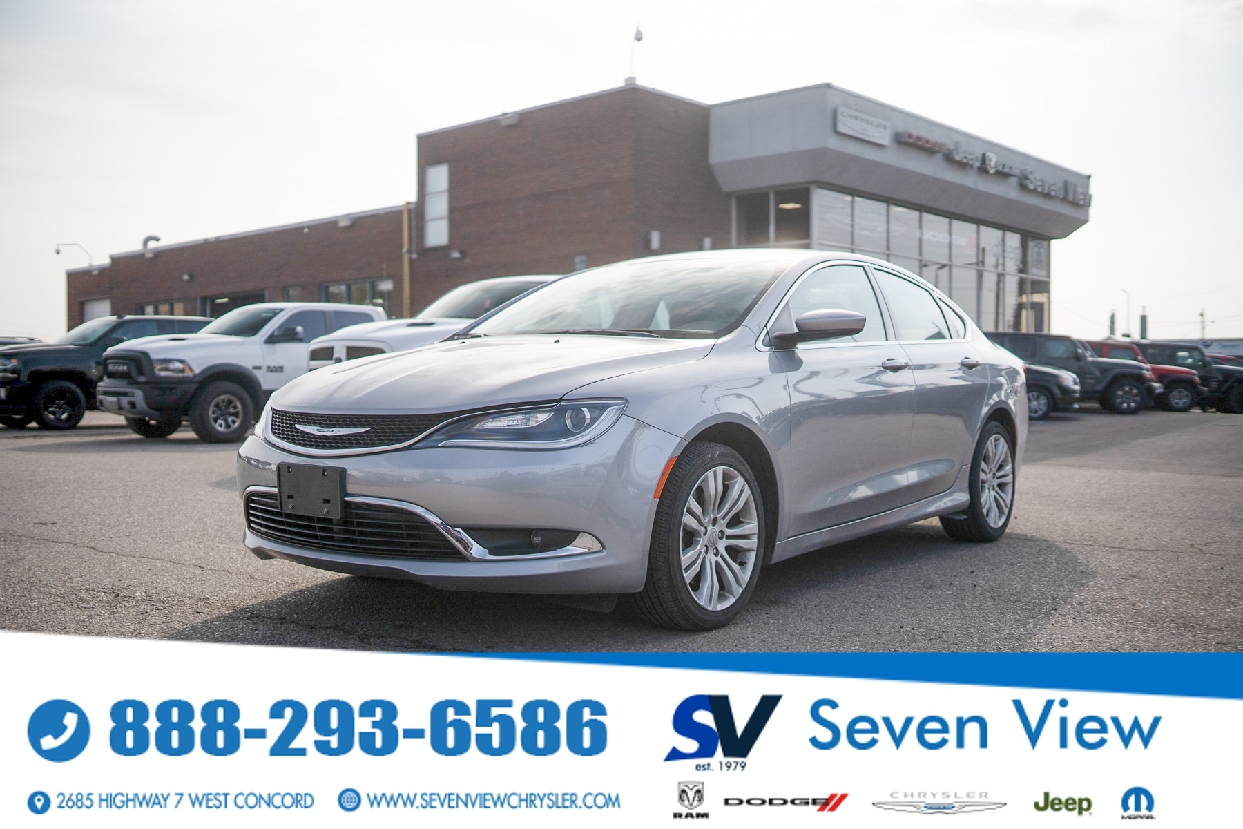 used 2015 Chrysler 200 car, priced at $14,577