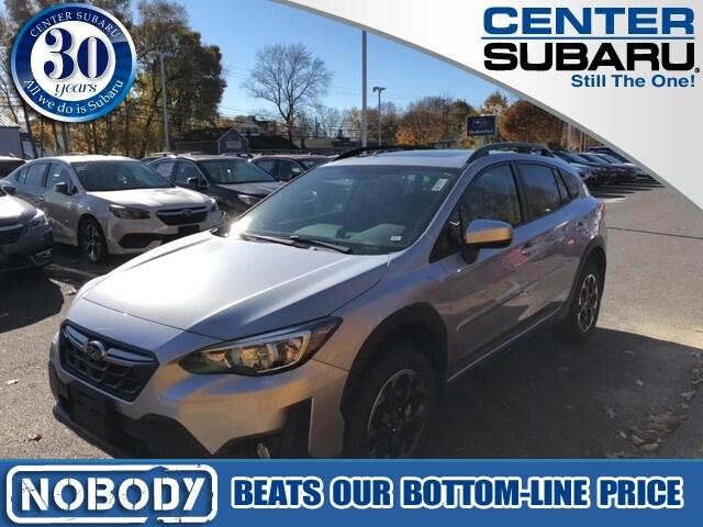 new 2021 Subaru Crosstrek car, priced at $28,563