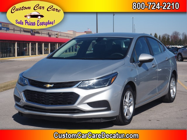 used 2017 Chevrolet Cruze car, priced at $11,995