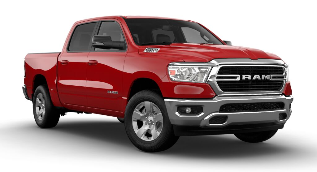 new 2021 Ram 1500 car, priced at $48,985