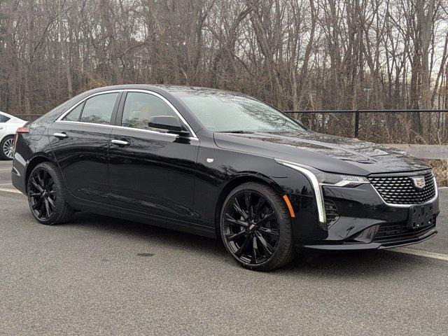 new 2021 Cadillac CT4 car, priced at $47,765