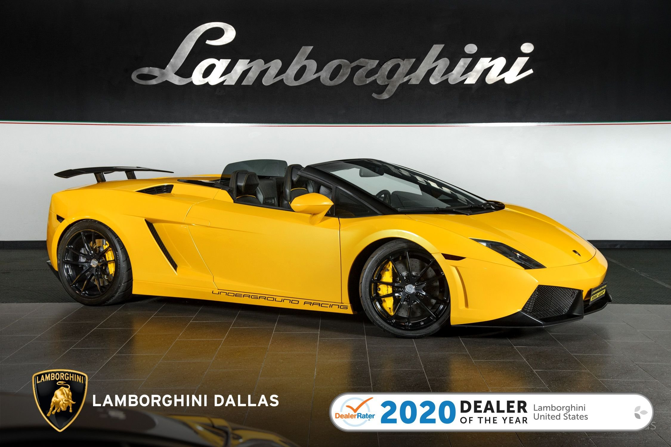 used 2011 Lamborghini Gallardo Spyder car, priced at $174,999