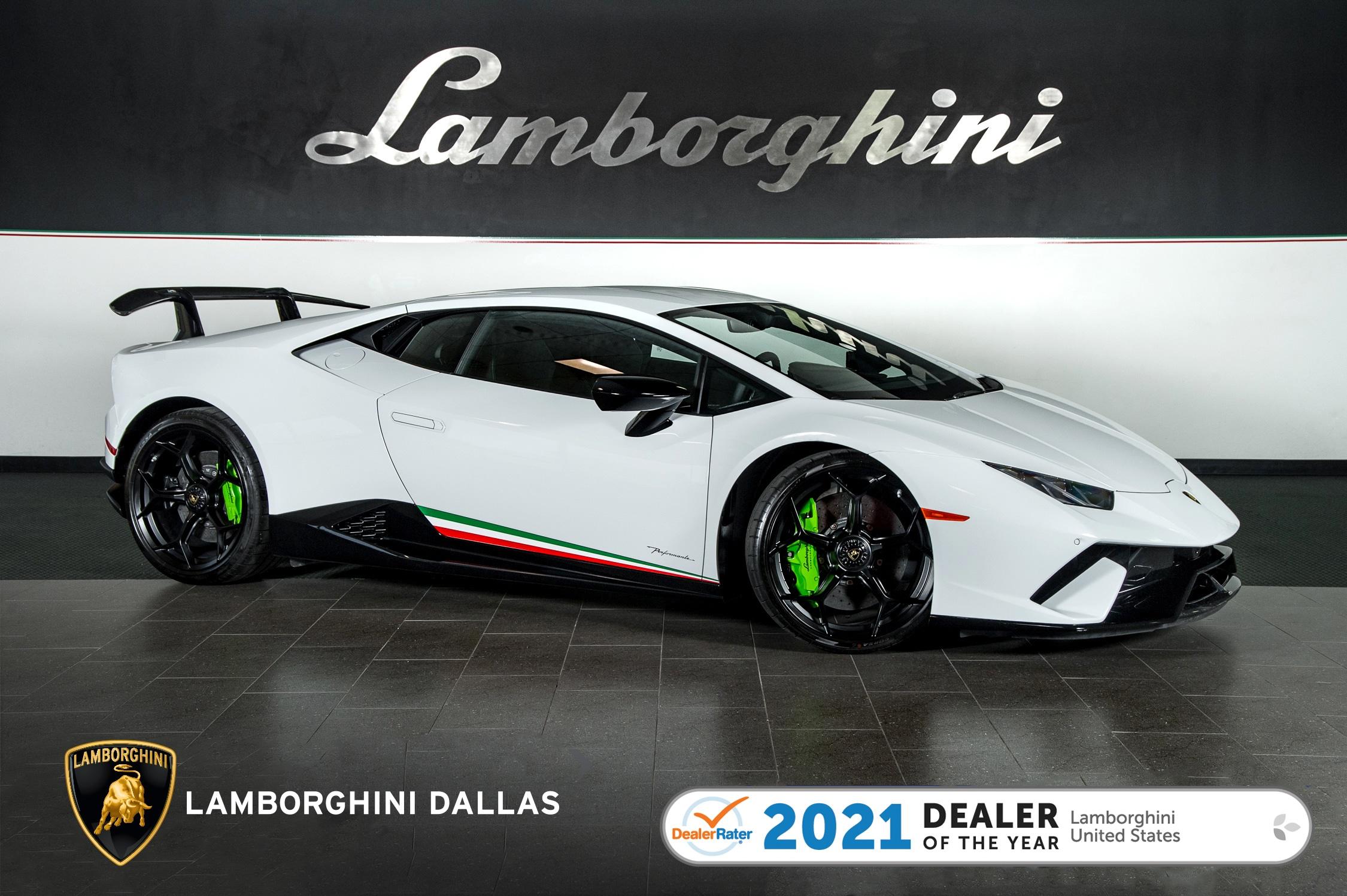 used 2018 Lamborghini Huracan Performante car, priced at $324,999