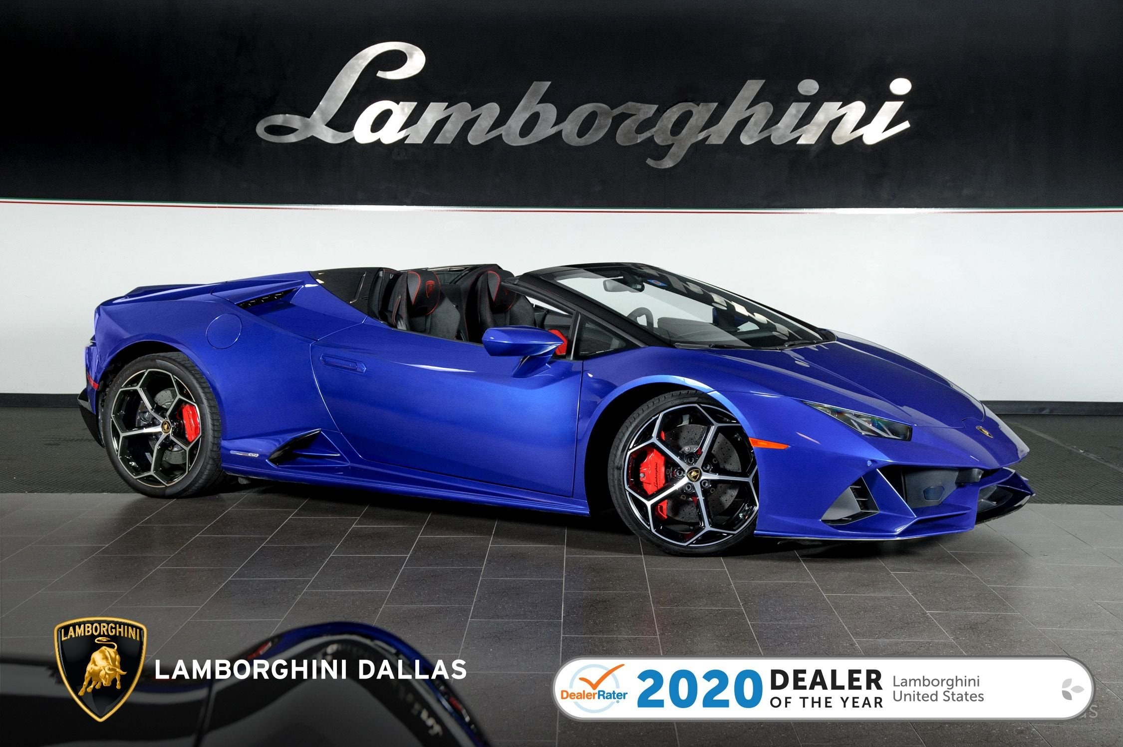 used 2020 Lamborghini Huracan EVO Spyder car, priced at $279,999