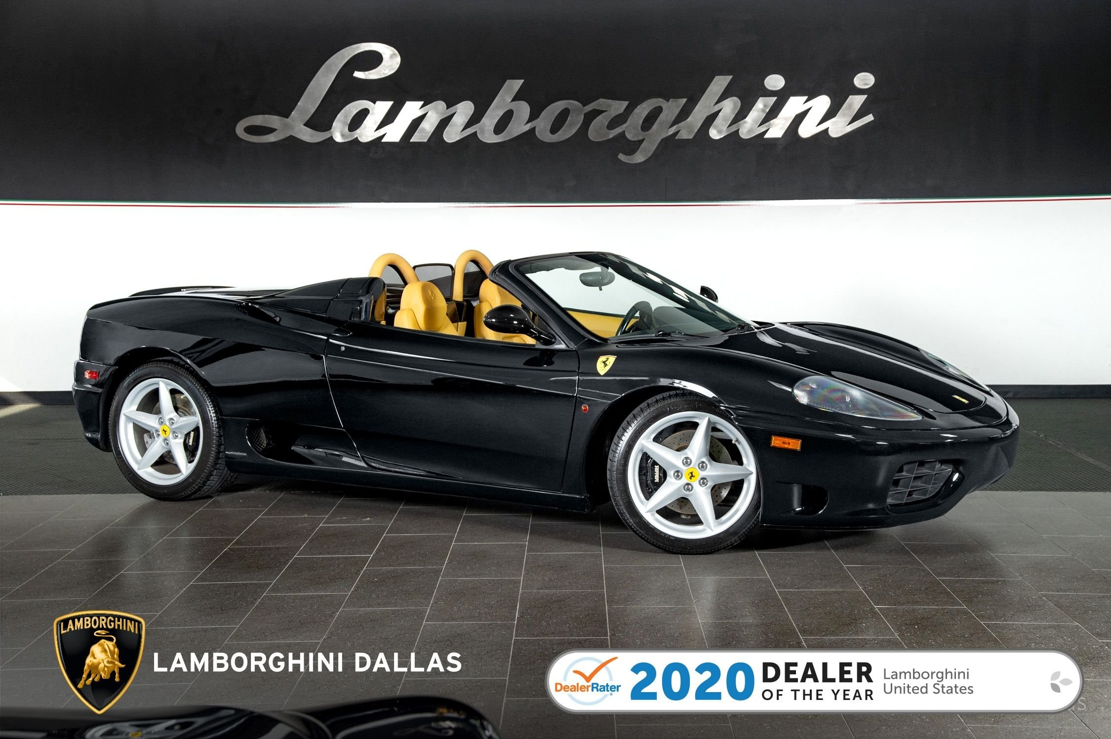 used 2004 Ferrari 360 Spider car, priced at $85,999