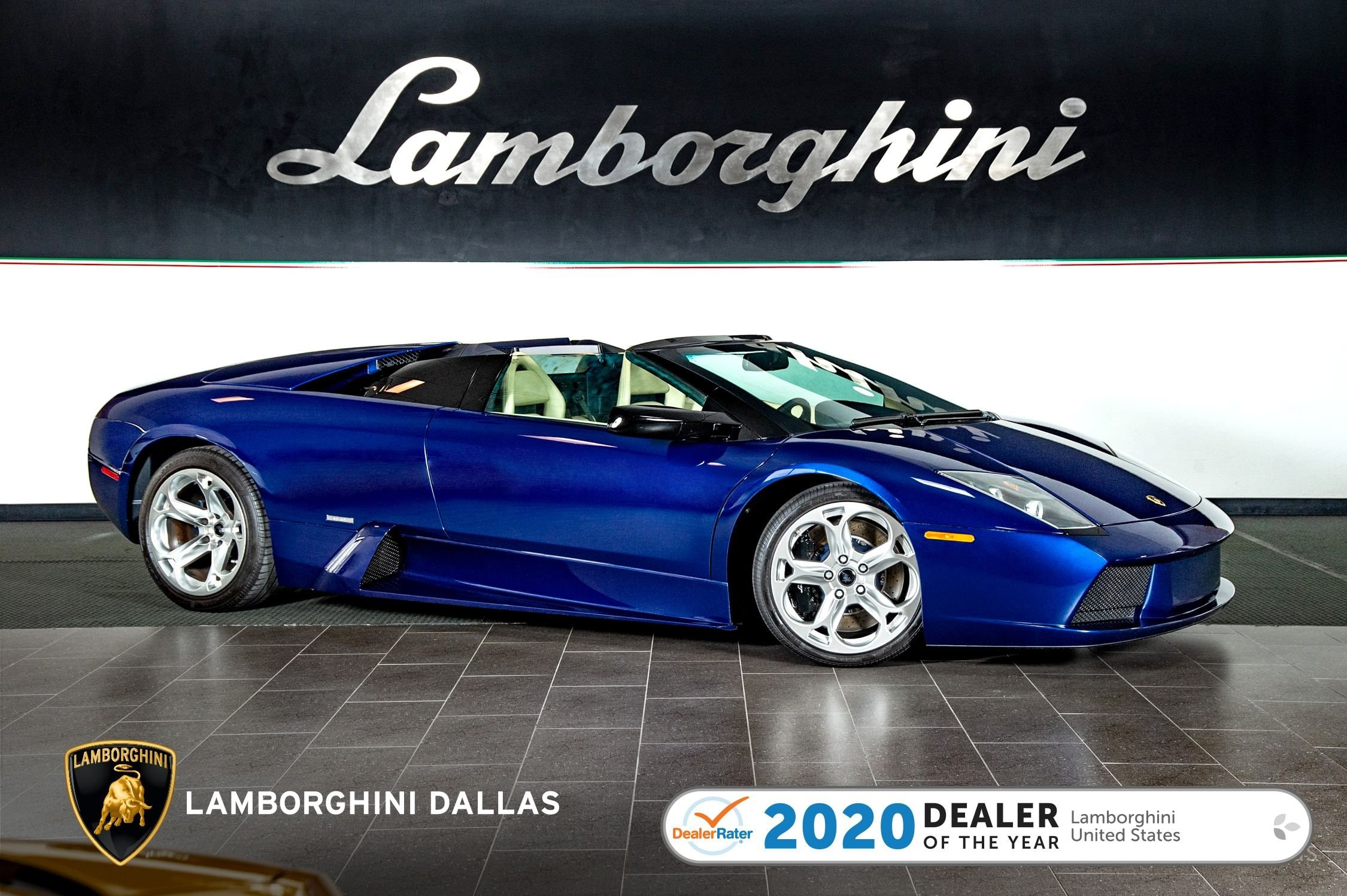 used 2006 Lamborghini Murcielago Roadster car, priced at $174,999