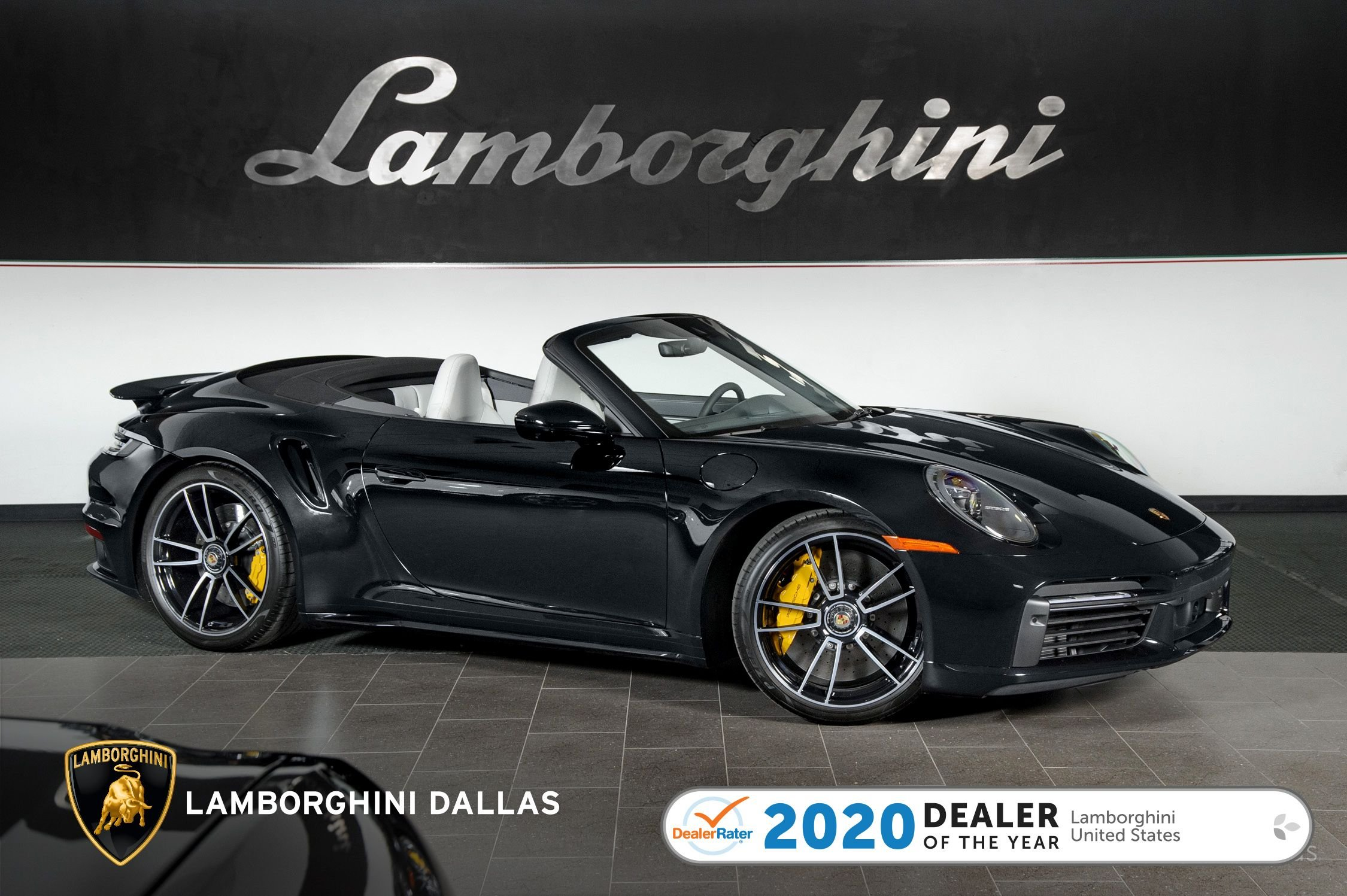 used 2021 Porsche 911 Turbo S Cabriolet car, priced at $274,999