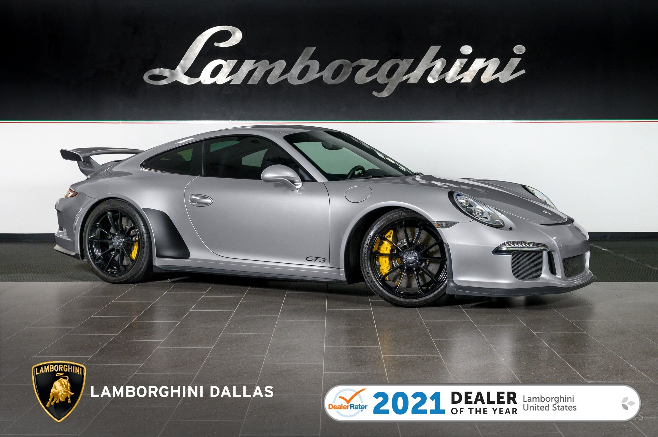 used 2015 Porsche 911 GT3 car, priced at $134,999