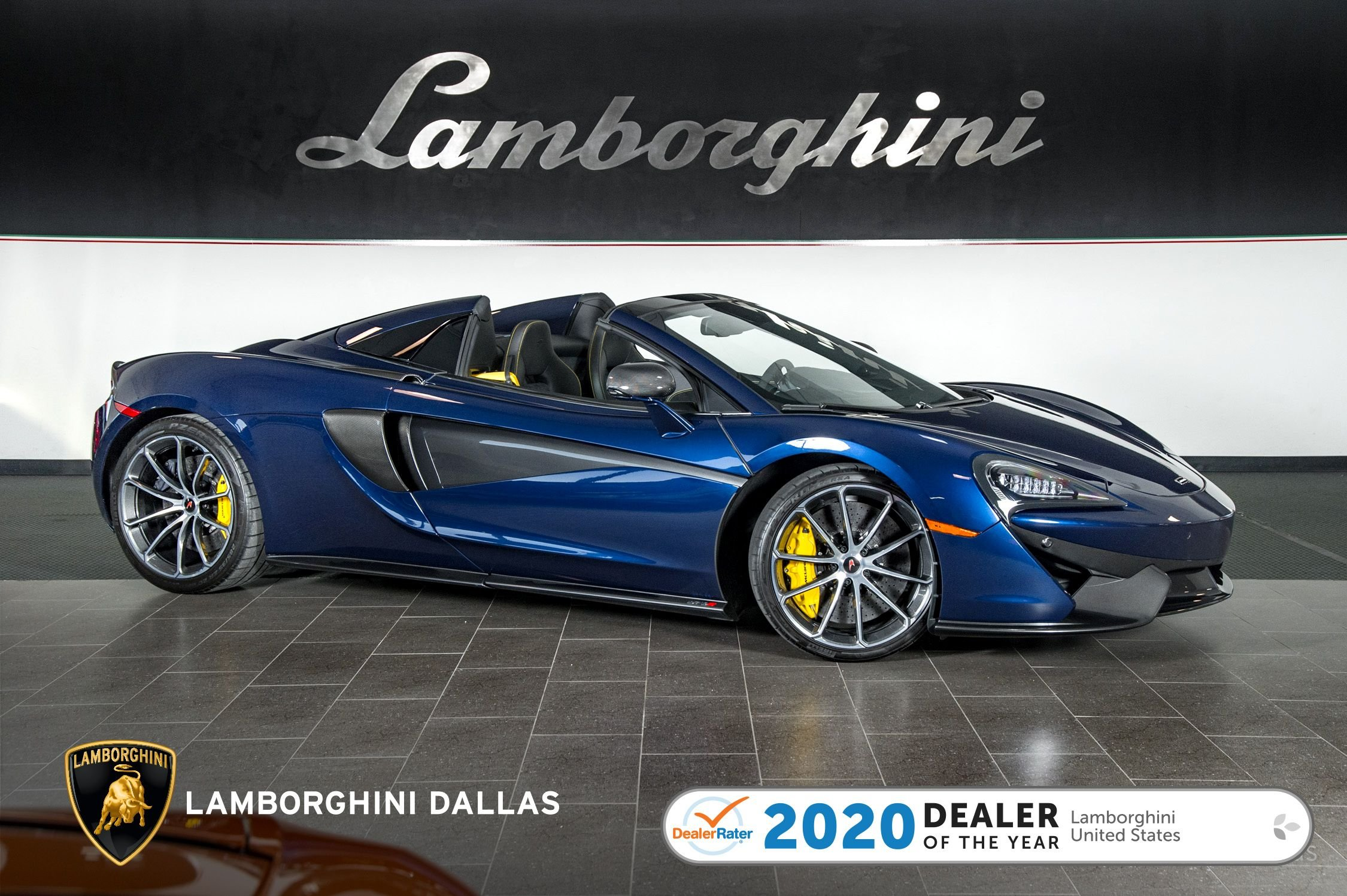 used 2018 McLaren 570S Spider car, priced at $179,999