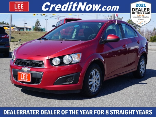 used 2015 Chevrolet Sonic car, priced at $14,995