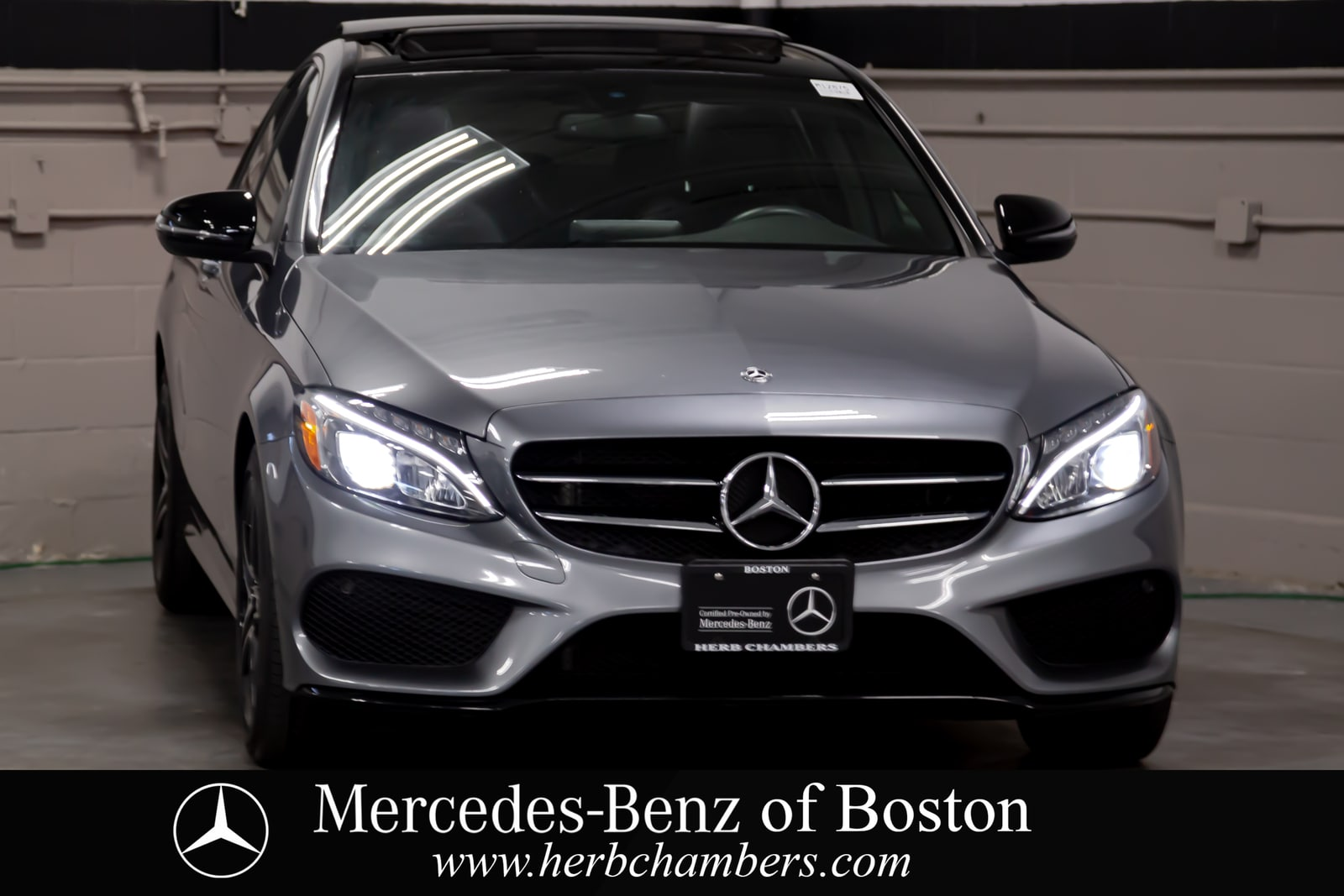 used 2018 Mercedes-Benz C-Class car, priced at $32,298