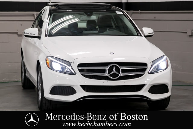 used 2017 Mercedes-Benz C-Class car, priced at $28,498