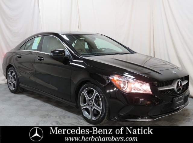 used 2018 Mercedes-Benz CLA 250 car, priced at $26,998