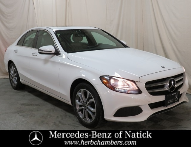 used 2018 Mercedes-Benz C-Class car, priced at $30,498