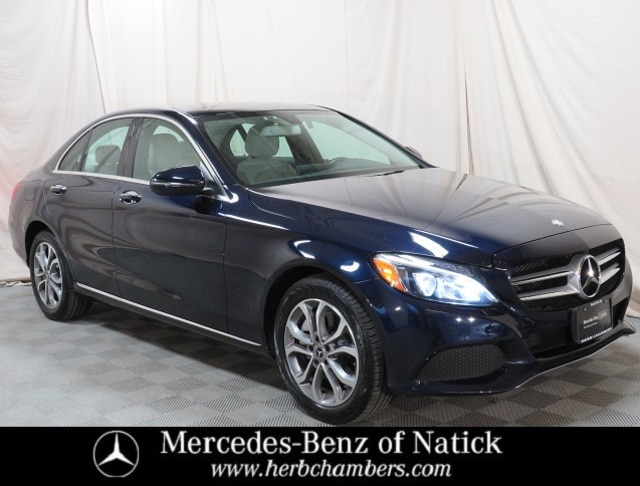 used 2017 Mercedes-Benz C-Class car, priced at $27,498