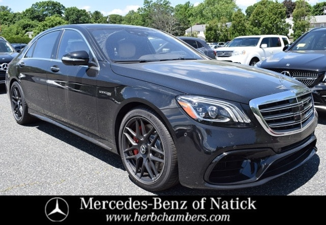 new 2020 Mercedes-Benz AMG S 63 car, priced at $175,925