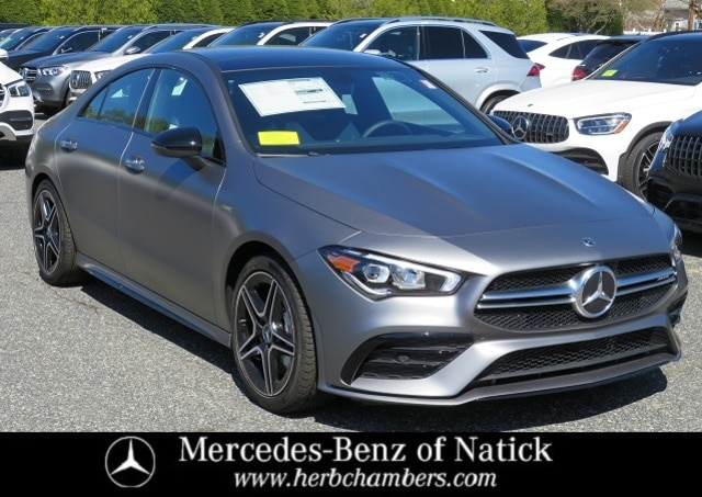 new 2021 Mercedes-Benz AMG CLA 35 car, priced at $54,310