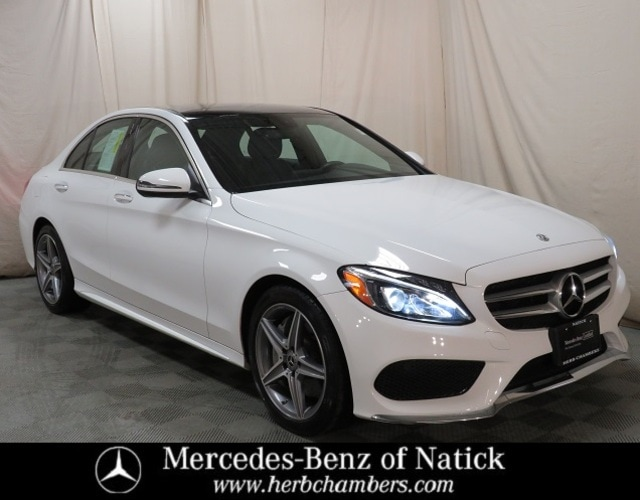 used 2018 Mercedes-Benz C-Class car, priced at $30,898