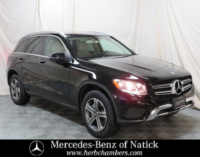 used 2018 Mercedes-Benz GLC 300 car, priced at $31,998
