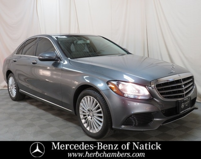 used 2017 Mercedes-Benz C-Class car, priced at $26,498