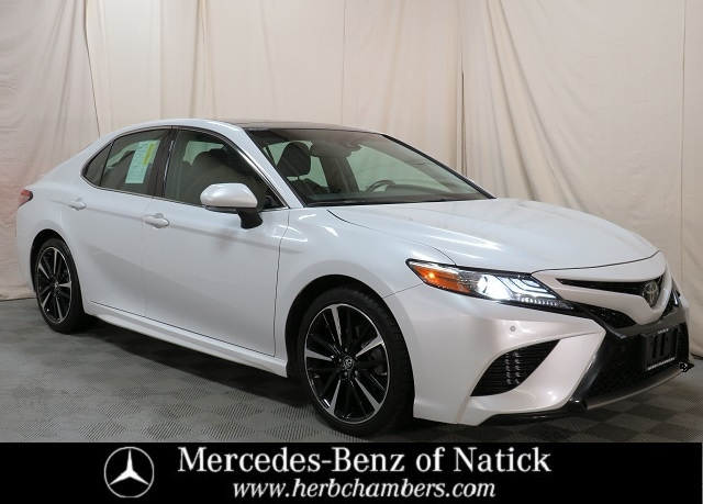 used 2018 Toyota Camry car, priced at $19,998
