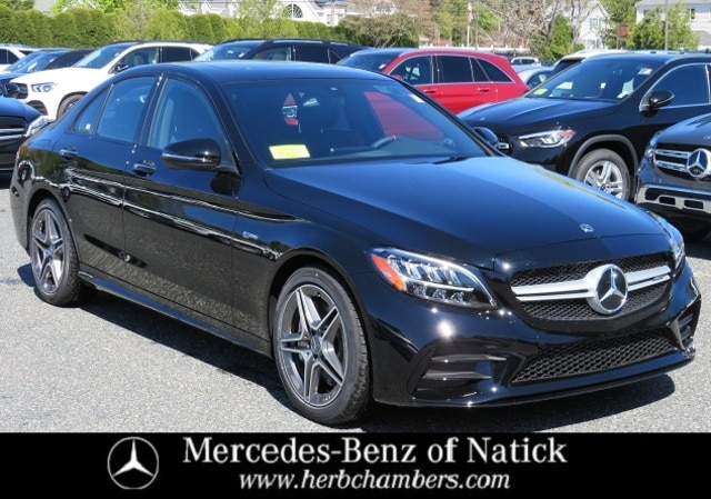 new 2021 Mercedes-Benz AMG C 43 car, priced at $58,300