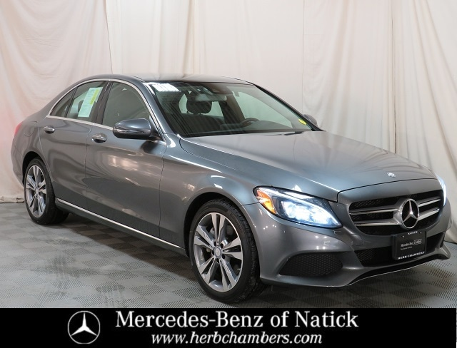 used 2017 Mercedes-Benz C-Class car, priced at $25,998