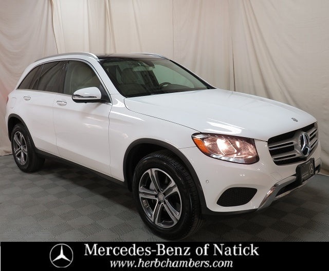 used 2016 Mercedes-Benz GLC 300 car, priced at $27,498