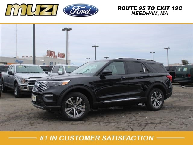 new 2020 Ford Explorer car, priced at $59,055