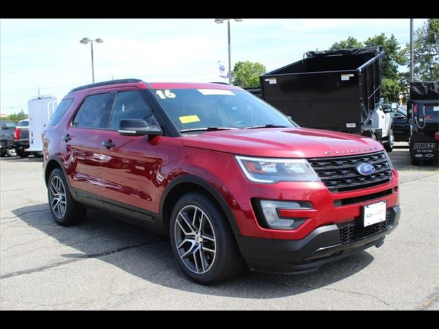 used 2016 Ford Explorer car, priced at $32,995
