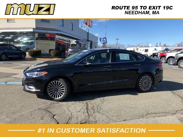 used 2017 Ford Fusion car, priced at $20,592