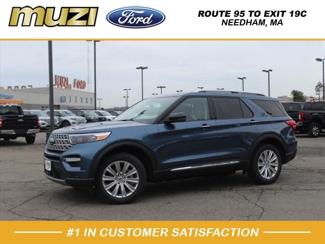 new 2020 Ford Explorer car, priced at $51,615