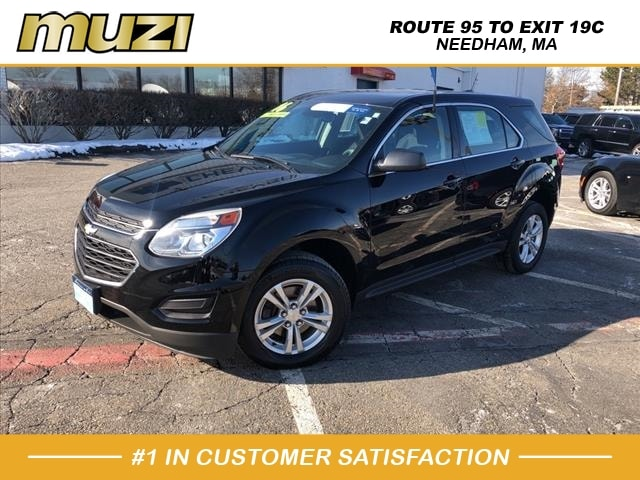 used 2016 Chevrolet Equinox car, priced at $18,979